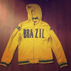 Kappa large Brazil zip up